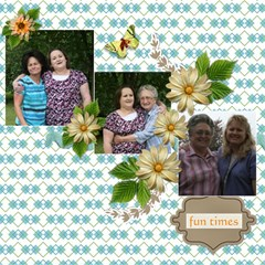 Family Mothers Day 2011 By Gayla Holmes Hardaway   Scrapbook Page 12  X 12    6leeyrtptj1l   Www Artscow Com 12 x12 Scrapbook Page - 7