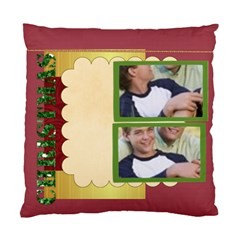 Merry Christmas By Joely   Standard Cushion Case (two Sides)   D92xannxnoiq   Www Artscow Com Front