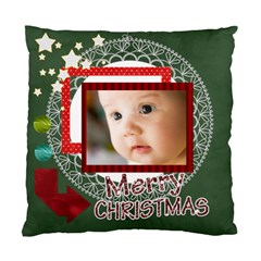 Merry Christmas By Joely   Standard Cushion Case (two Sides)   W72028zfufyg   Www Artscow Com Front