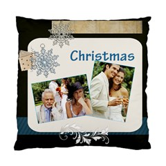 Merry Christmas By Joely   Standard Cushion Case (two Sides)   Wh7t83qo7lnd   Www Artscow Com Front