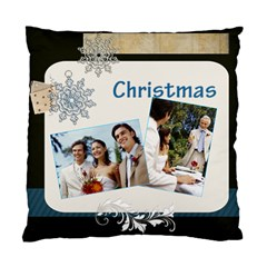 Merry Christmas By Joely   Standard Cushion Case (two Sides)   Wh7t83qo7lnd   Www Artscow Com Back
