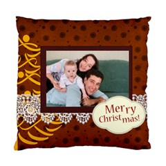Merry Christmas By Joely   Standard Cushion Case (two Sides)   Yp2ajo0uydz9   Www Artscow Com Front