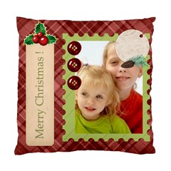 Merry Christmas By Joely   Standard Cushion Case (two Sides)   Hb3mu2dkqolg   Www Artscow Com Back