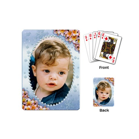 All Framed Mini Playing Cards By Deborah   Playing Cards (mini)   4dzfv1txekc5   Www Artscow Com Back