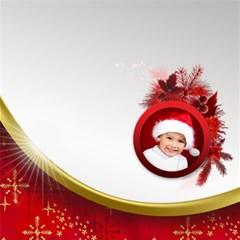 Little Red Christmas Storage Box By Deborah   Storage Stool 12    Vnj1pkdl75jn   Www Artscow Com Front