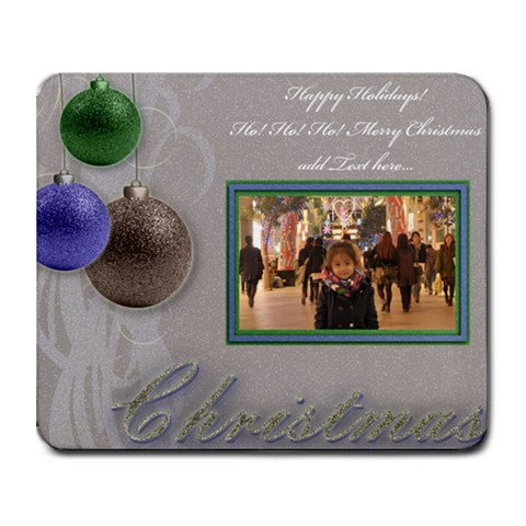 Christmas Collage Mousepad By Angel   Collage Mousepad   34wozfjtot7s   Www Artscow Com 9.25 x7.75 Mousepad - 1