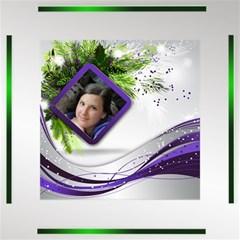 Purple Christmas Storage Box By Deborah   Storage Stool 12    X91uh87x8obs   Www Artscow Com Top
