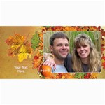 Autumn -  Fall Photo Card Sample - 4  x 8  Photo Cards