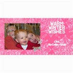Winter Card - 4  x 8  Photo Cards