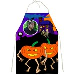 marching Jackolantern full print apron