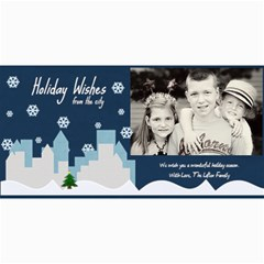 Holiday Wishes Card By Lana Laflen   4  X 8  Photo Cards   Eroulr1uuxam   Www Artscow Com 8 x4  Photo Card - 8
