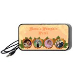 pumpkin patch portable speaker - Portable Speaker (Black)