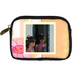 peach camera case - Digital Camera Leather Case