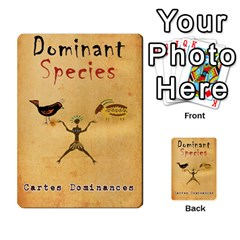 Dominant Species Vf By Ndeclochez   Playing Cards 54 Designs   Kwd27z82bvf0   Www Artscow Com Back
