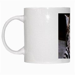 Mugs Adorable Cat White Mug by KDShop