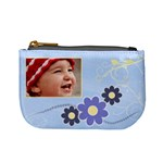 Serenity Blue Mini Coin Purse
