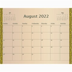 Our Family 2019 (any Year) Calendar By Deborah   Wall Calendar 11  X 8 5  (12 Months)   D5f8twm2h67p   Www Artscow Com Aug 2019