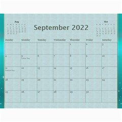 Our Family 2019 (any Year) Calendar By Deborah   Wall Calendar 11  X 8 5  (12 Months)   D5f8twm2h67p   Www Artscow Com Sep 2019
