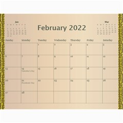 Our Family 2019 (any Year) Calendar By Deborah   Wall Calendar 11  X 8 5  (12 Months)   D5f8twm2h67p   Www Artscow Com Feb 2019