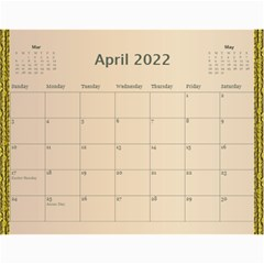 Our Family 2019 (any Year) Calendar By Deborah   Wall Calendar 11  X 8 5  (12 Months)   D5f8twm2h67p   Www Artscow Com Apr 2019