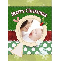Merry Christmas By Joely   Greeting Card 5  X 7    S29cqjsv8zho   Www Artscow Com Front Cover