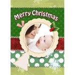 merry christmas - Greeting Card 5  x 7