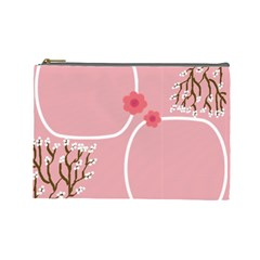 Kimberley s Wedding By Mandy   Cosmetic Bag (large)   Ra8f921vxx1s   Www Artscow Com Front