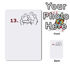 Tabletalk Cards By Lthiessen   Multi Purpose Cards (rectangle)   Zo72vcnubbf5   Www Artscow Com Front 51