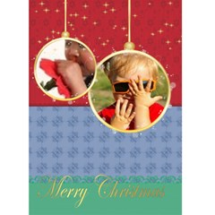 Christmas Card By Joely   Greeting Card 5  X 7    Vvb0iw7vqhqq   Www Artscow Com Front Cover
