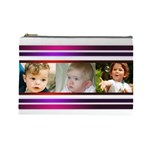 Pretty Stipes Large Cosmetic Bag (6 Photos) - Cosmetic Bag (Large)