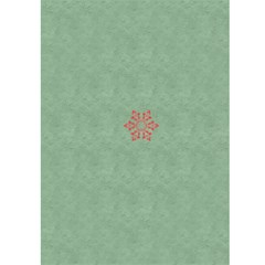 Christmas Card By Joely   Greeting Card 5  X 7    Ibu1hy2z8g4v   Www Artscow Com Back Cover