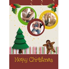 Christmas Card By Joely   Greeting Card 5  X 7    Uppmtwif0bzi   Www Artscow Com Front Cover