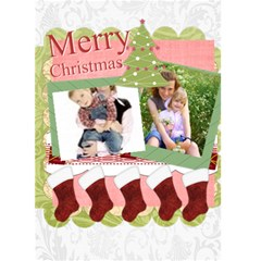 Christmas Card By Joely   Greeting Card 5  X 7    Bxcea4jha97k   Www Artscow Com Front Cover