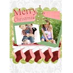 Christmas card - Greeting Card 5  x 7
