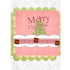 Christmas Card By Joely   Greeting Card 5  X 7    Pbn4jfh7gmi3   Www Artscow Com Back Cover