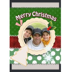 Christmas Card By Joely   Greeting Card 5  X 7    95fu2dvmllj4   Www Artscow Com Front Cover