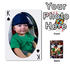 King Daddy Cards By Jas   Playing Cards 54 Designs   Xonnja7d0zt5   Www Artscow Com Front - SpadeK