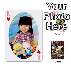 King Daddy Cards By Jas   Playing Cards 54 Designs   Xonnja7d0zt5   Www Artscow Com Front - HeartK