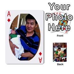 Ace Daddy Cards By Jas   Playing Cards 54 Designs   Xonnja7d0zt5   Www Artscow Com Front - DiamondA