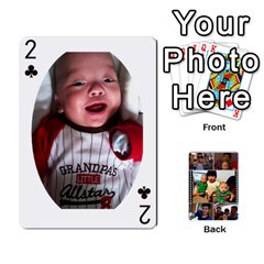Daddy Cards By Jas   Playing Cards 54 Designs   Xonnja7d0zt5   Www Artscow Com Front - Club2