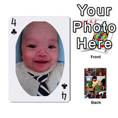 Daddy Cards By Jas   Playing Cards 54 Designs   Xonnja7d0zt5   Www Artscow Com Front - Club4