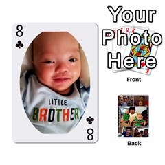 Daddy Cards By Jas   Playing Cards 54 Designs   Xonnja7d0zt5   Www Artscow Com Front - Club8