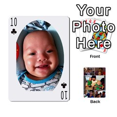 Daddy Cards By Jas   Playing Cards 54 Designs   Xonnja7d0zt5   Www Artscow Com Front - Club10
