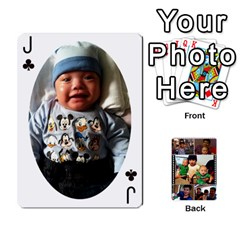 Jack Daddy Cards By Jas   Playing Cards 54 Designs   Xonnja7d0zt5   Www Artscow Com Front - ClubJ