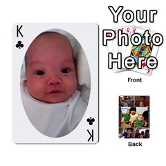 King Daddy Cards By Jas   Playing Cards 54 Designs   Xonnja7d0zt5   Www Artscow Com Front - ClubK