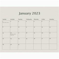 Calendar: My Family By Jennyl   Wall Calendar 11  X 8 5  (12 Months)   65bcj7g98b3a   Www Artscow Com Jan 2017