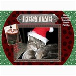 Festive 5x7 Christmas Card - 5  x 7  Photo Cards