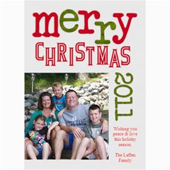2011 Chirstmas Card By Lana Laflen   5  X 7  Photo Cards   Bvl2g7ia3x7o   Www Artscow Com 7 x5 Photo Card - 1