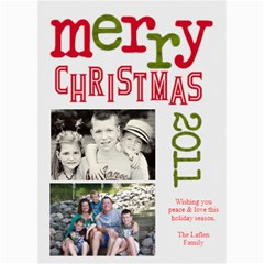 2011 Chirstmas Card By Lana Laflen   5  X 7  Photo Cards   Bvl2g7ia3x7o   Www Artscow Com 7 x5 Photo Card - 4