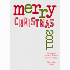 2011 Chirstmas Card By Lana Laflen   5  X 7  Photo Cards   Bvl2g7ia3x7o   Www Artscow Com 7 x5 Photo Card - 8